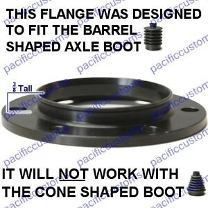 Details about Porsche 930 CV Axle Boot Flange Chromoly USA Set of Four For  Dune Buggies