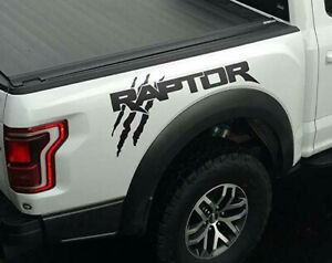 Ford F150 Raptor SVT bed tailgate claw Scratch graphics decal sticker 22