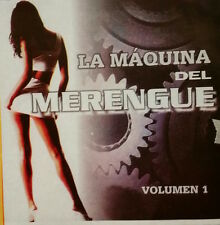 Audio CD - LA MAQUINA DEL MERENGUE - Volumen 1 - Like New (LN) WORLDWIDE