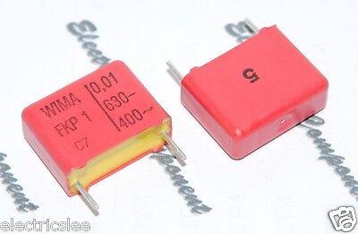 WIMA MKP4 0.01uF 630V 5/% pitch:10mm Capacitor 10pcs 0,01µF 10nF