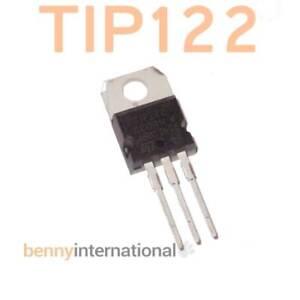 2x-TIP122-NPN-DARLINGTON-TRANSISTOR-8A-100V-TO220