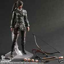 "Rise of the Tomb Raider Lara Croft Play Arts Kai Action Figure Square Enix 10"""