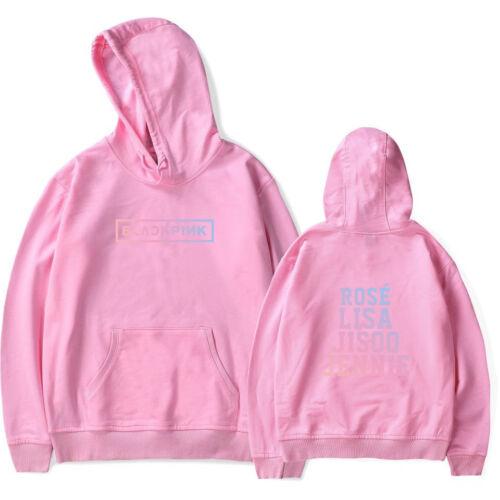BLACKPINK Girl/'s Women Sweatershirt Unisex Hoodies Coats Lisa Rose JISOO JENNIE