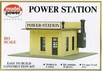 Model Power Ho Scale Building Kit - Power Station - 443