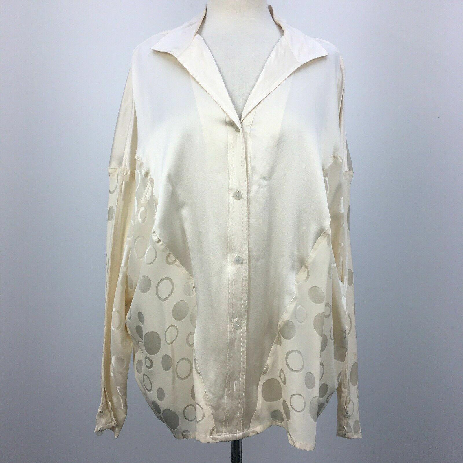 Francesca of damon silk top