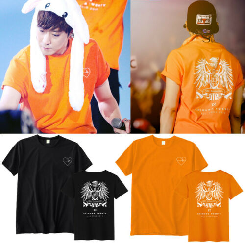 SHINHWA Tshirt ALL YOUR DREAMS Concert Tee Unisex T-shirt D526
