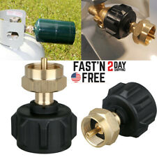 Outdoor 1 Lb Cylinder Propane Refill Adapter Camping Tank Coupler Heater Useful