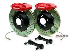 Brembo Front Gt Big Brake Kit Bbk 4piston Red 328x28 Drill Disc Tt 8n 99 06