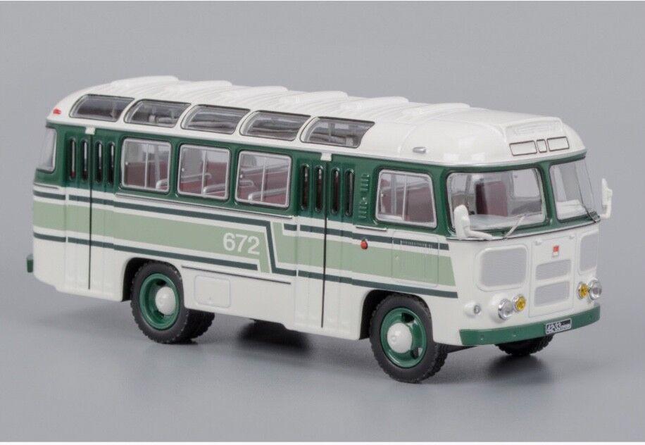 PAZ 672 Soviet Russian verde bianca bus USSR 1 43 Classicbus