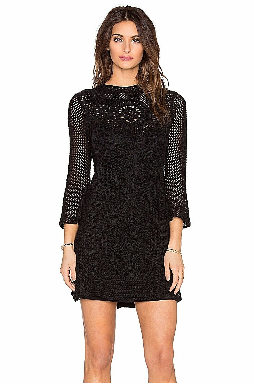 Free People Rosalind Swit Crochet Dress Sz. S NWT Retail