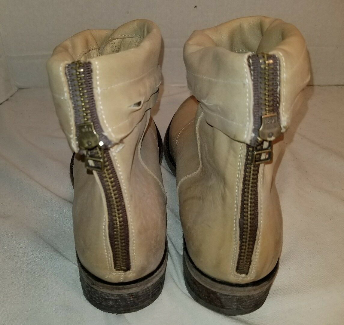NEW FREE PEOPLE FARYLROBIN ANKLE SPRING VALLEY NATURAL LEATHER ANKLE FARYLROBIN Stiefel US 8 762aa4