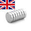 thumbnail 1 - Super-Strong-Neodymium-Magnets-Craft-Ring-10x3mm-10mm-x-3mm-N35-UK-SELLER