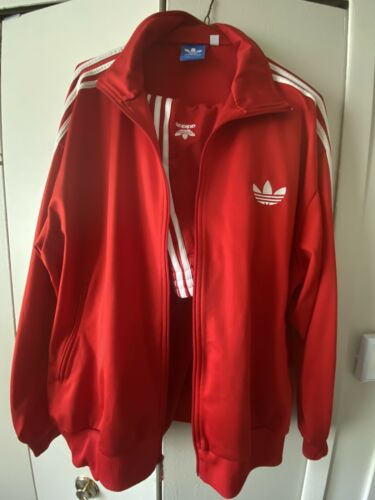 ADIDAS Track Suit Red XXL (Jacket & Pants)