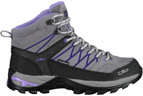 Cmp Rigel Damen Wanderschuhe Trekkingschuhe 3q12946-36ud Grau Violet Neu