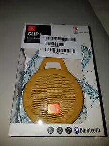 JBL ClipRed tragbarer Bluetooth-Lautsprecher NEU!! Gelb - Suhl, Deutschland - JBL ClipRed tragbarer Bluetooth-Lautsprecher NEU!! Gelb - Suhl, Deutschland