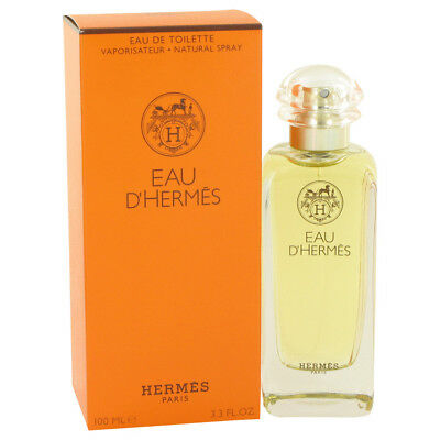 Eau D'Hermes Hermes 3.4 oz Eau De Toilette Spray Fragrance New Unisex Authentic