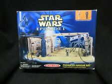 Podracer Hangar Bay Episode 1 STAR WARS Action Fleet Micro Machines Playset
