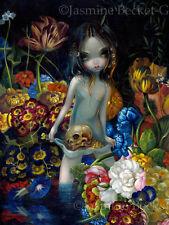 Jasmine Becket-Griffith surrealism art BIG print SIGNED The Offering I