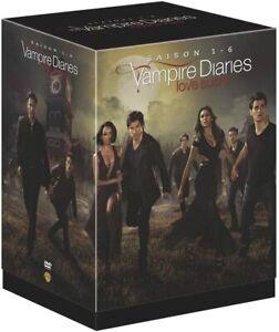 COFFRET DVD SERIE VAMPIRES ROMANCE : VAMPIRE DIARIES - INTEGRALE SAISONS 1 A 6