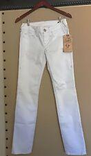 NWT True Religion Kala Skinny Stretch White Jeans size 27