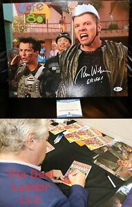 Back-To-The-Future-2-Tom-Wilson-Biff-Griff-Signed-11x14-Picture-Beckett-PSA