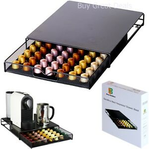 Image Is Loading Coffee Pod Storage Drawer Holder Mesh Wire Black