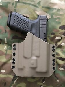 FDE Kydex Holster for Glock 19 GEN5