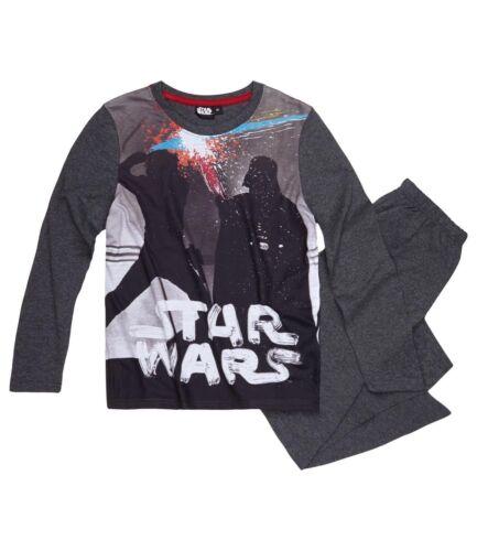 Ragazzi Bambini Ufficiale Star Wars Luke Skywalker Darth Vader manica lunga Pigiama Pjs