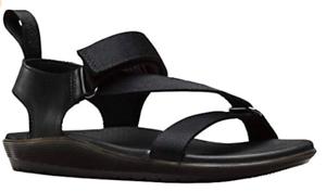 DR-MARTENS-Ladies-Women-039-s-BALFOUR-Black-Leather-Sandals-size-UK-4-5-6-7