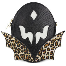 Stella McCartney Superhero Collection Black Gold Chain Crossbody Bag Clutch