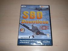 ✈️ FSX SBD DAUNTLESS US NAVY BOMBER ~ FLIGHT SIMULATOR X FSX ADD-ON *NEW SEALED*