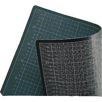 60x45cm Stärke 3 mm 2 Stück grün//schwarz 2x ECOBRA Schneideunterlagen 706045