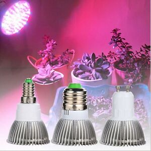 18watt led e27 e14 gu10 led pflanzenlicht pflanzenlampe grow light leuchte new ebay. Black Bedroom Furniture Sets. Home Design Ideas