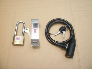 Complete Security Made To Fit Rtic 45 Amp 65 Cooler Lock