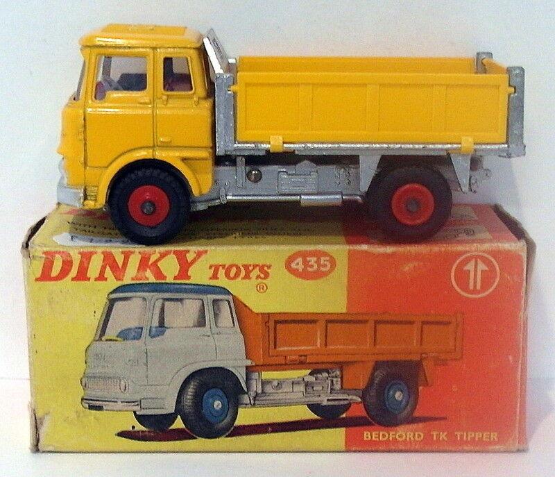 Vintage Dinky 435 - Bedford TK Tipper - Gelb