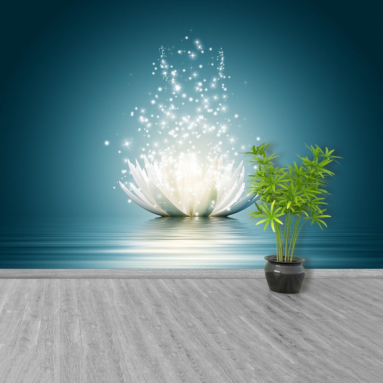 Fototapete Selbstklebend Einfach ablösbar Mehrfach klebbar Magische Lotusblüte