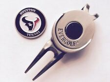 NFL Houston Texans Golf Ball Marker and Magnetic Divot Tool
