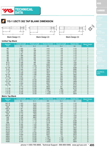 1//2-20 H3 3 Flute Spiral Point Plug Standard Tap HSSE-V3 Bright