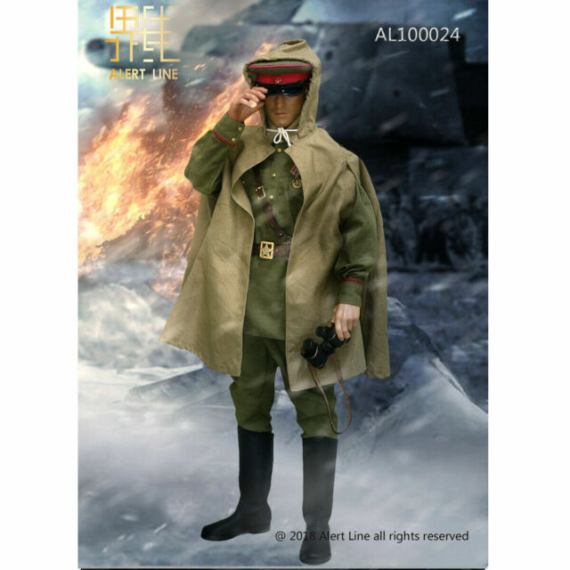 Alert Line Action Figures Uniform Set 1//6 Scale Red Army Senior Officer