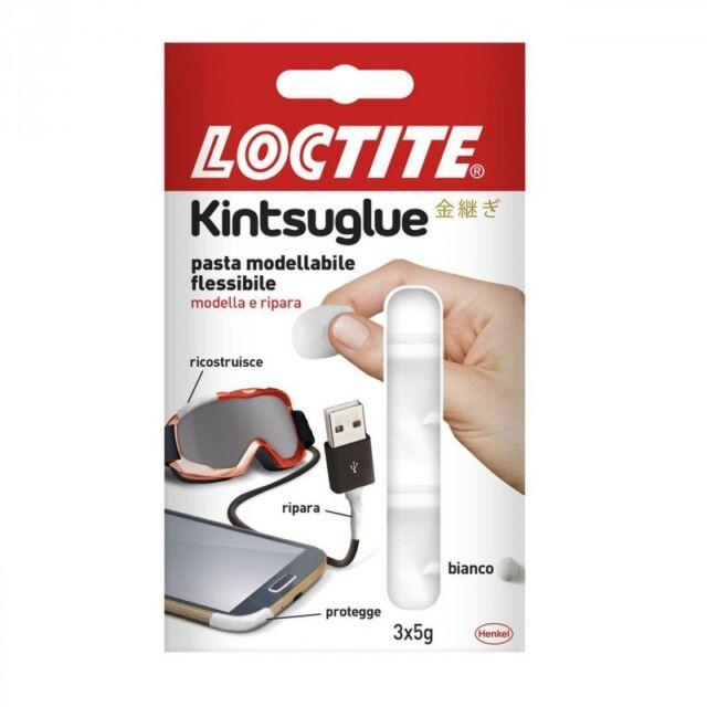 Loctite masilla Kintsuglue blanco 3 barritas 3x5 Gr