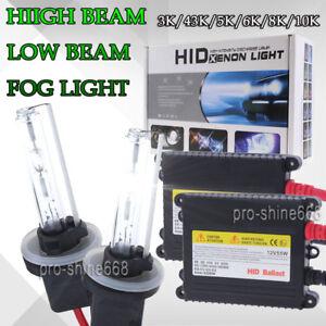 Image Is Loading Hid Xenon Headlight Conversion Kit Bulbs Hi Low