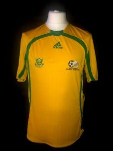Afrique-du-Sud-2005-07-Home-vintage-football-shirt-Excellent-etat