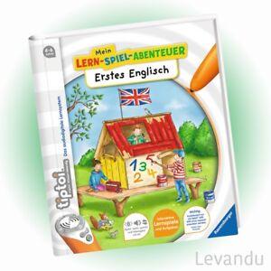 RAVENSBURGER tiptoi® Buch - Mein Lern-Spiel-Abe<wbr/>ntuer - Erstes Englisch