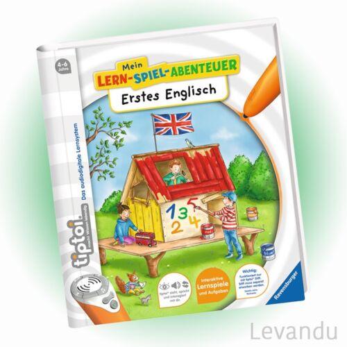 Mein Lern-Spiel-Abentuer RAVENSBURGER tiptoi® Buch Erstes Englisch