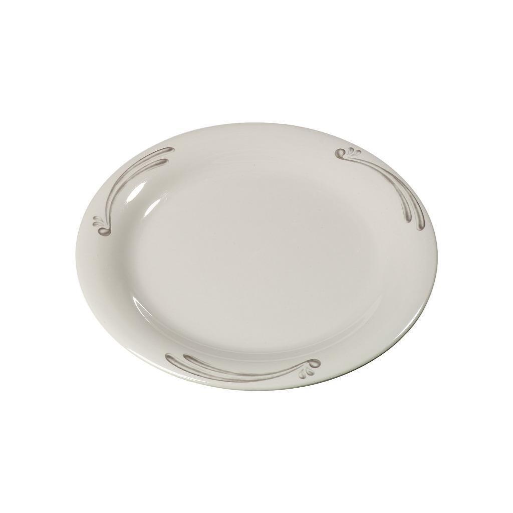 Carlisle Mélamine Pie plaque étroite jante 6.5  Versailles 43009909 Case Of 48
