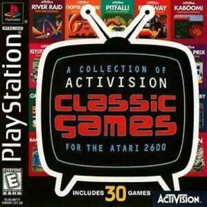 Activision Classic Games for the Atari 2600 Playstation 1 PS1 Used Complete