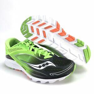 f58fdc0e918f Saucony Men s Kinvara 7 Slime Green Black Running Shoes Size 7