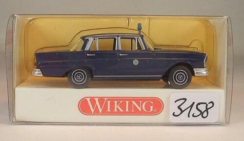 864 06 29 Mercedes Benz 220 S Polizei OVP #3158 Wiking 1//87 Nr