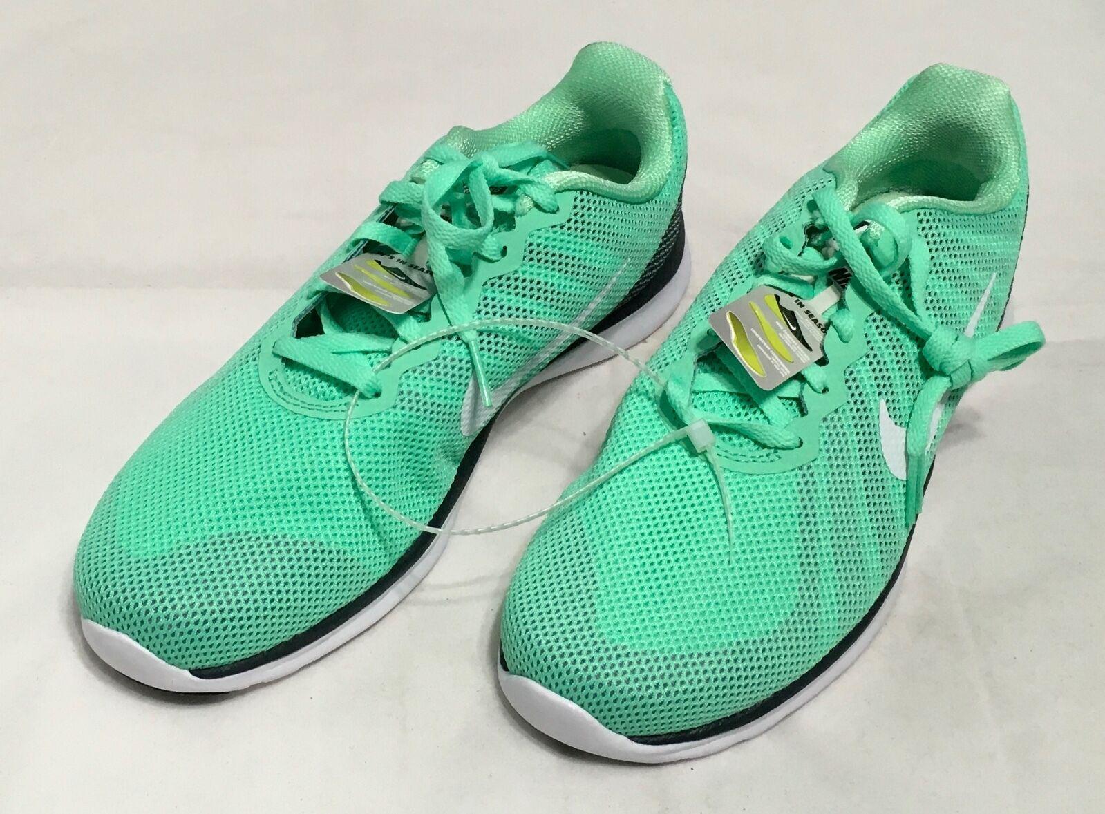 Nike Women's In-Season TR 6 Green/White  Size 8 8 Size NEW! 023f26