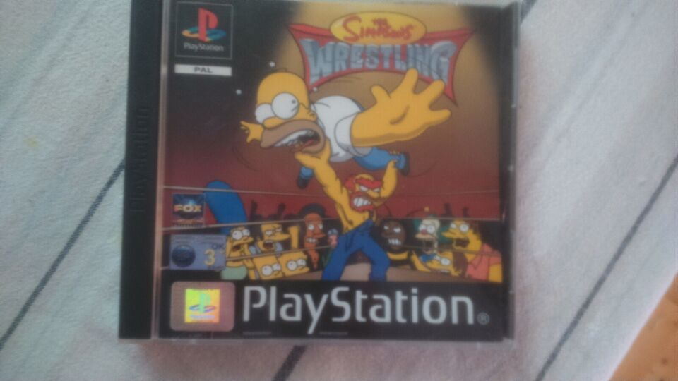 The Simpsons Wrestling, PS, sport